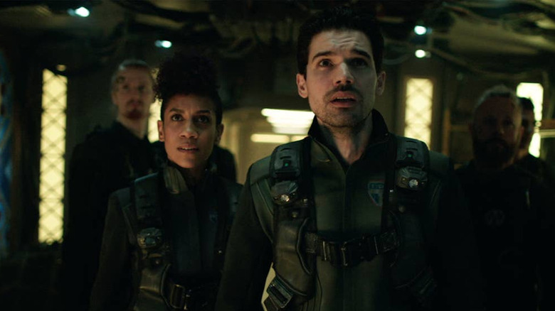 Dominique Tipper and Steven Strait on The Expanse