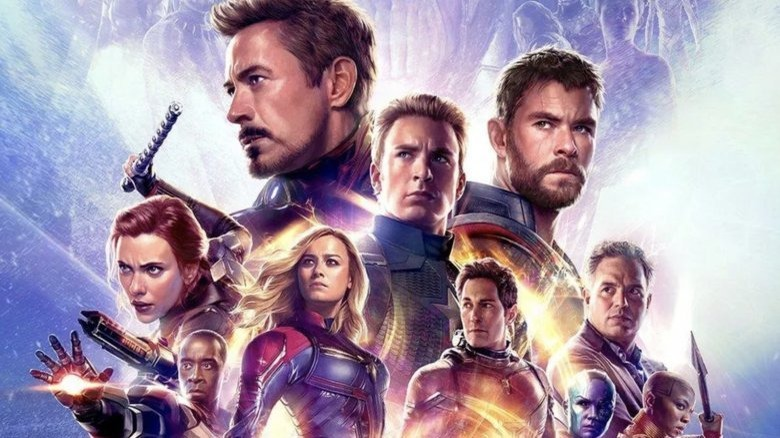 Promotional poster from Avengers: Endgame