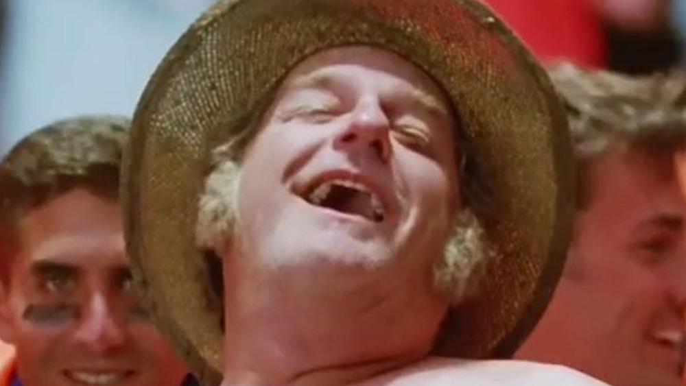 Blake Clark Farmer Fran Waterboy smiling