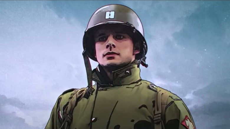 Bradley James plays Felix on Netflix's The Liberator