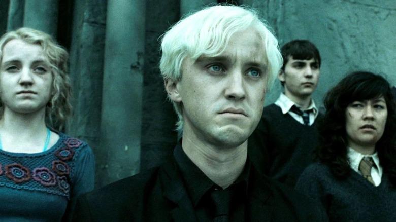 Draco Malfoy reconsidering his allegiances