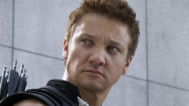 Jeremy Renner in The Avengers