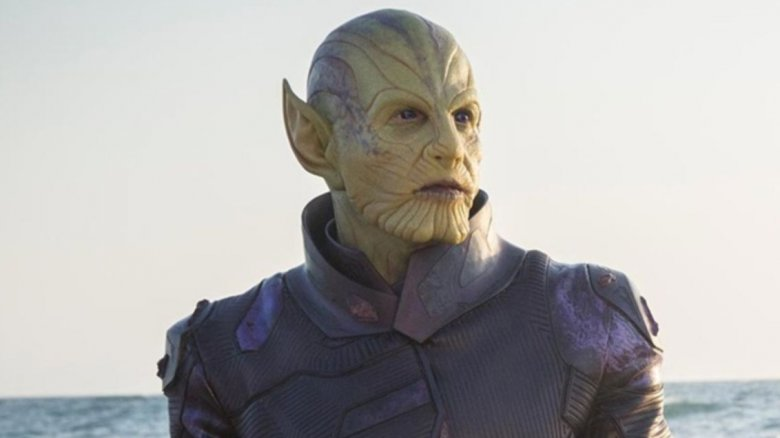 A Skrull in Captain Marvel