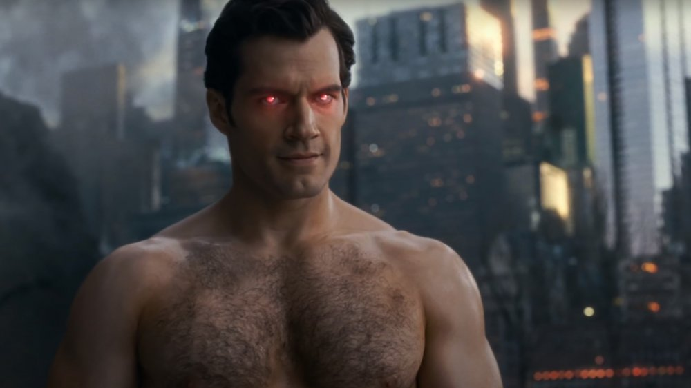 Henry Cavill as Superman in Justice League