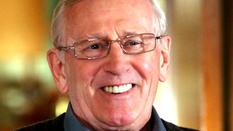 Len Cariou smiling