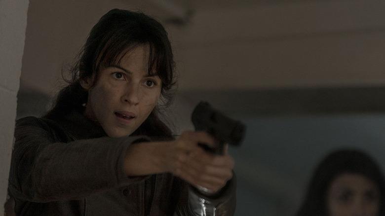 Annet Mahendru as Huck in Walking Dead: World Beyond