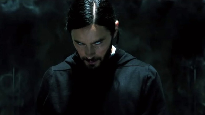 Morbius peering