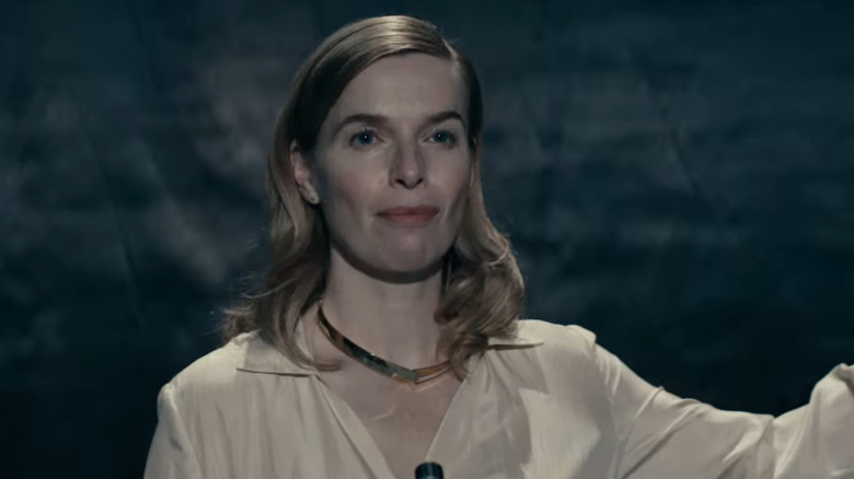 Thekla Reuten as Jillian Salvius from Warrior Nun