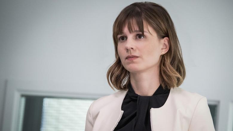 Katja Herbers plays Kristen in Evil