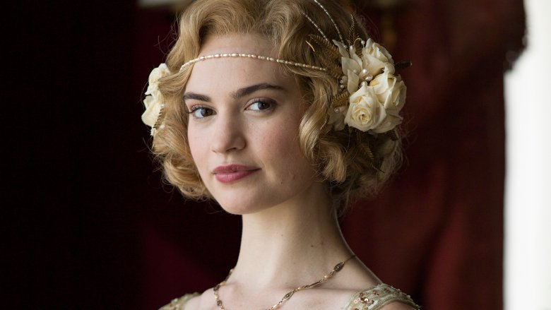 Why Lily James Isn T In The Downton Abbey Movie