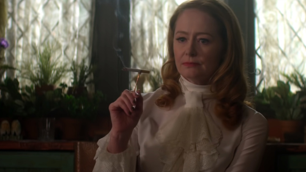 Miranda Otto in the Chilling Adventures of Sabrina