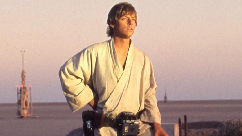 Mark Hamill as Luke Skywalker in Star Wars: A New Hope