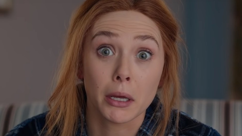 Wanda making a funny face