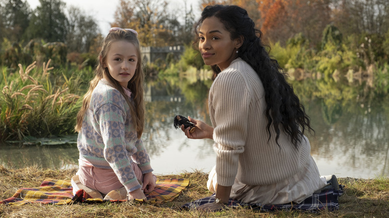 Tahirah Sharif and Amelia Bea Smith in The Haunting of Bly Manor