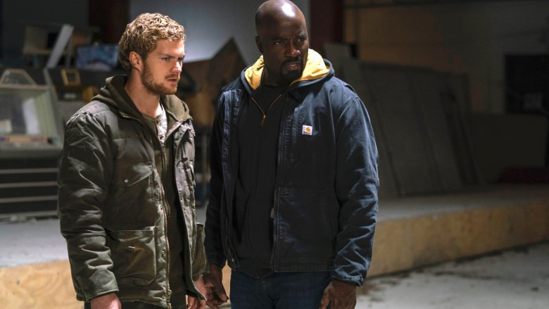 Luke Cage and Danny Rand