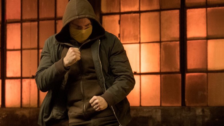 Danny Rand in a mask in Iron Fist