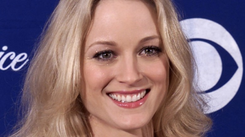 Teri Polo smiling