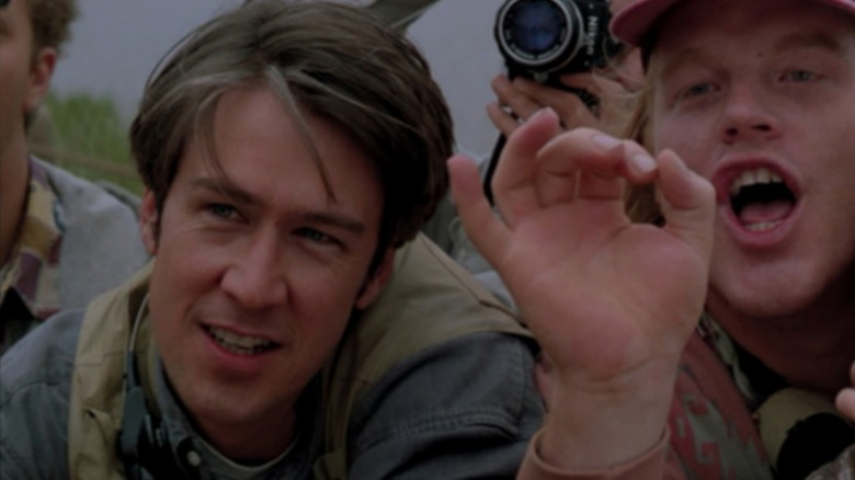 Alan Ruck and Philip Seymour Hoffman as Rabbit and Dusty in Twister