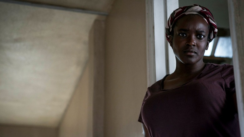 Wunmi Mosaku plays Rial in Netflix's His House