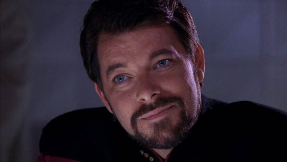 Jonathon Frakes as Riker in Star Trek The Next Generation