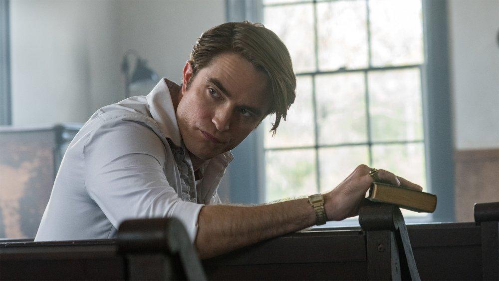 Robert Pattinson as Preston Teagardin in The Devil All the Time