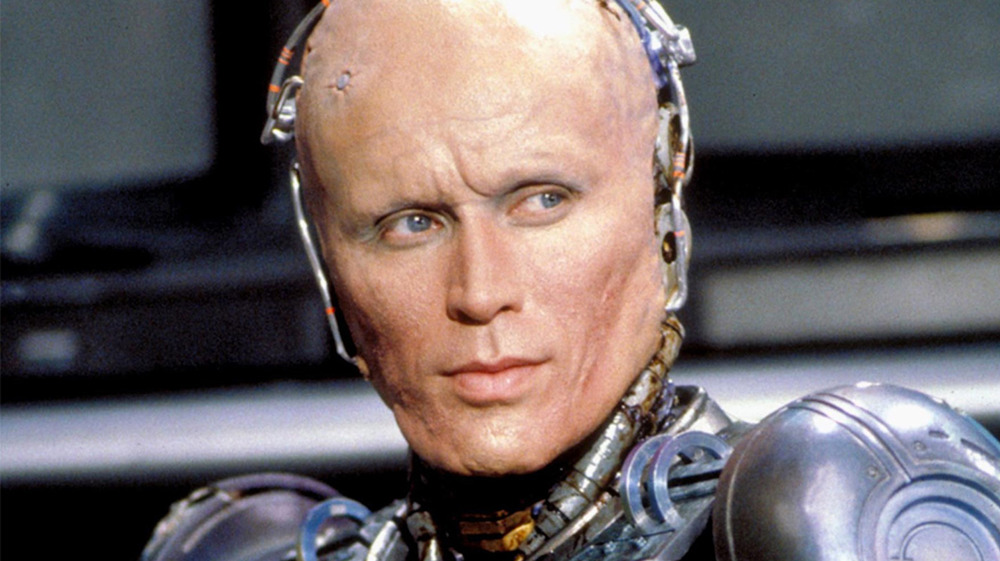 RoboCop closeup with no mask