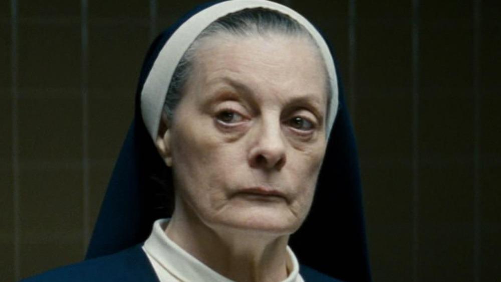 Sister Agnes side eye