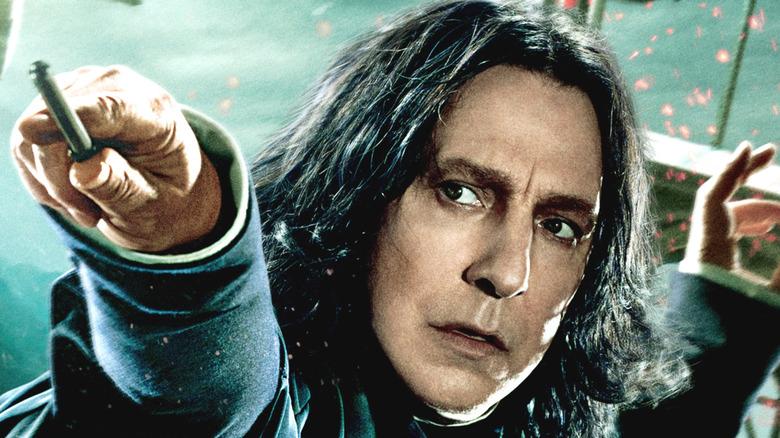 Alan Rickman as Severus Snape in Harry Potter