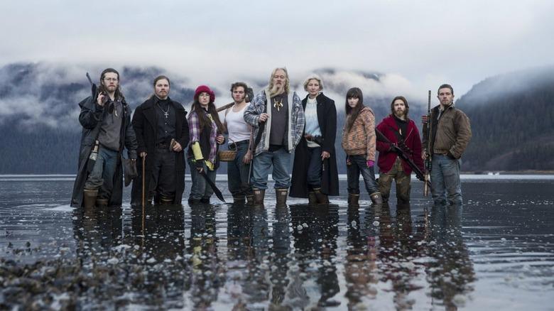 The cast of Alaskan Bush People