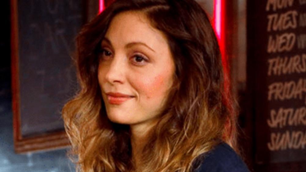 Leah Gibson as Tamara smirking