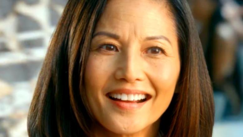 Kumiko in close-up