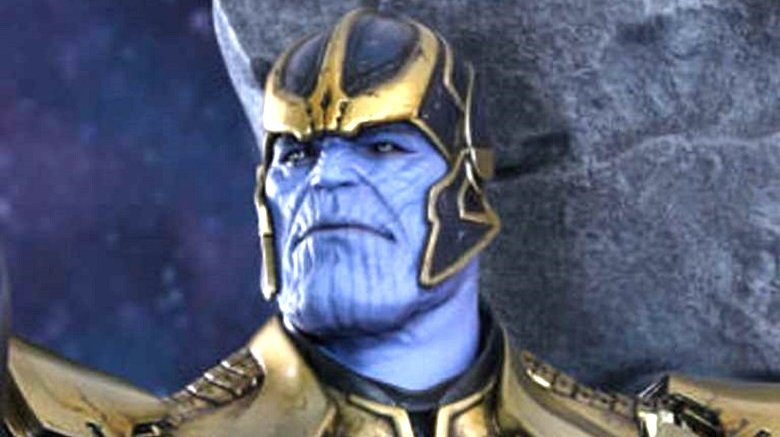 Marvel's Thanos in Guardians of the Galaxy