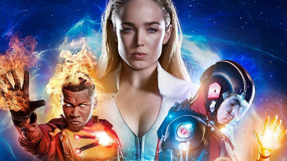 DC's Legends of Tomorrow poster