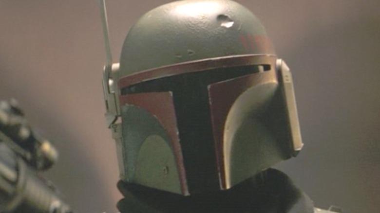 Boba Fett with helmet