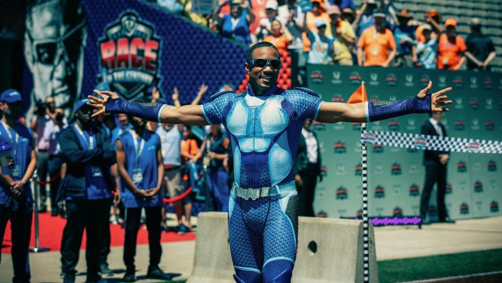 Jessie T. Usher as A-Train on Amazon Prime's The Boys