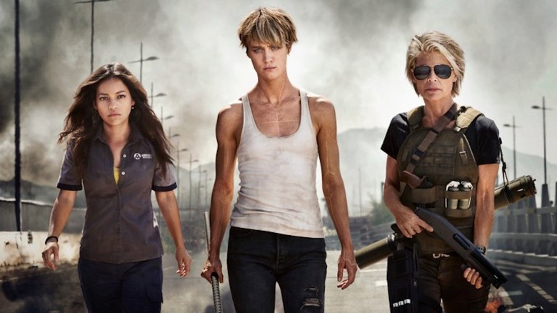 Promotional art for Terminator: Dark Fate