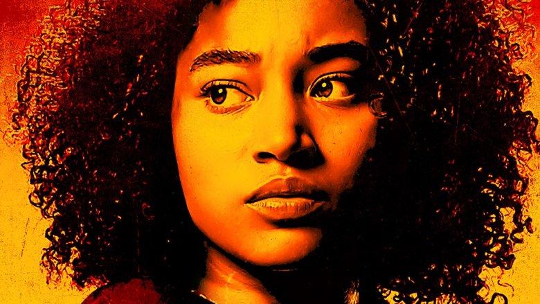 Amandla Stenberg on The Darkest Minds poster