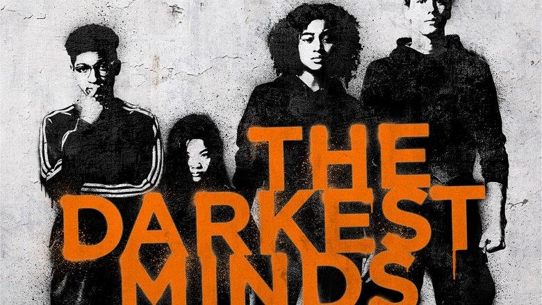 The Darkest Minds graffiti poster