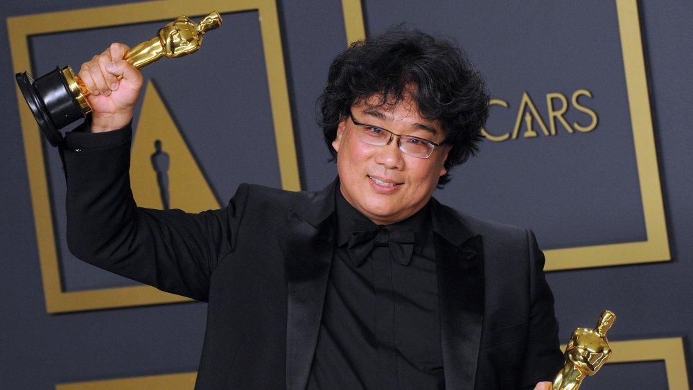 Bong Joon-ho at the Oscars