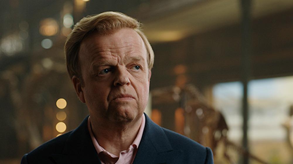 Toby Jones as Gunnar Eversoll in Jurassic World: Fallen Kingdom