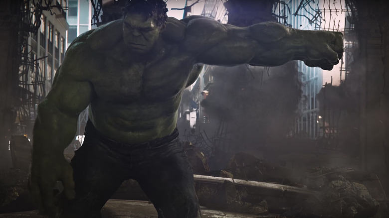 Hulk in the first Avengers movie