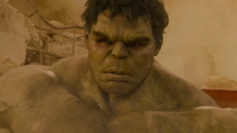Professor Hulk would be more controlled but just as strong
