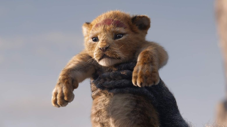 Scene from The Lion King