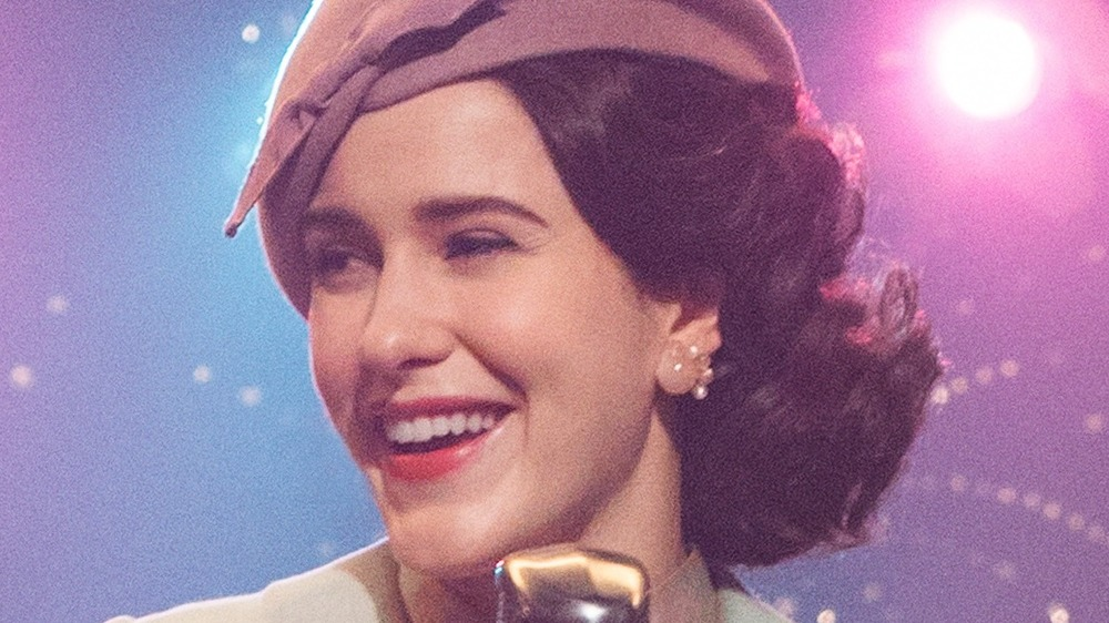 Rachel Brosnahan as Miriam 'Midge' Maisel in The Marvelous Mrs. Maisel