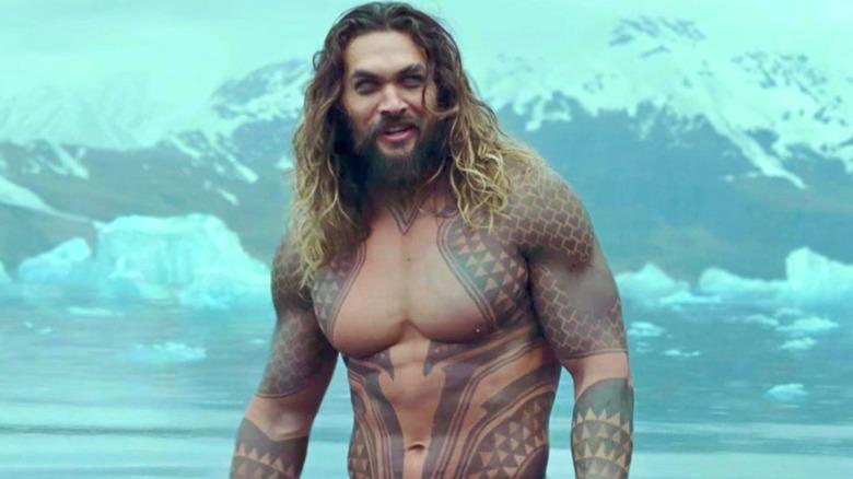Jason Momoa as Arthur Curry in Aquaman