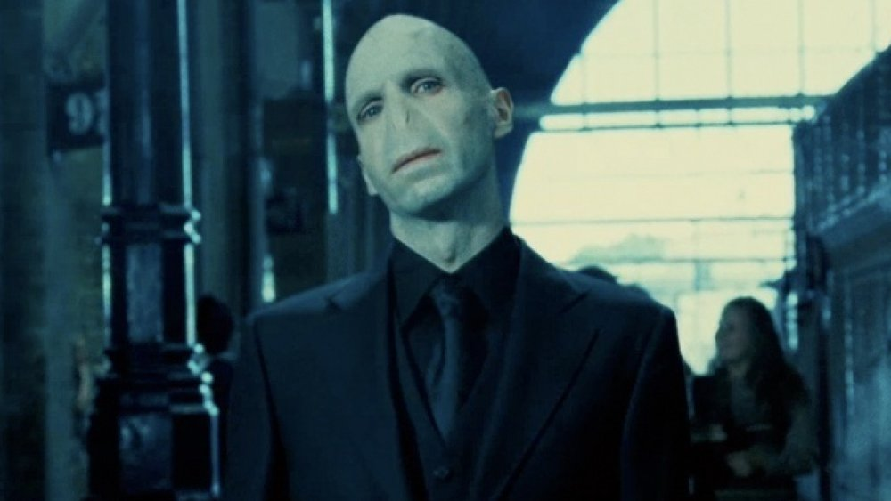 Ralph Fiennes as Voldemort in Harry Potter and the Order of the Phoenix