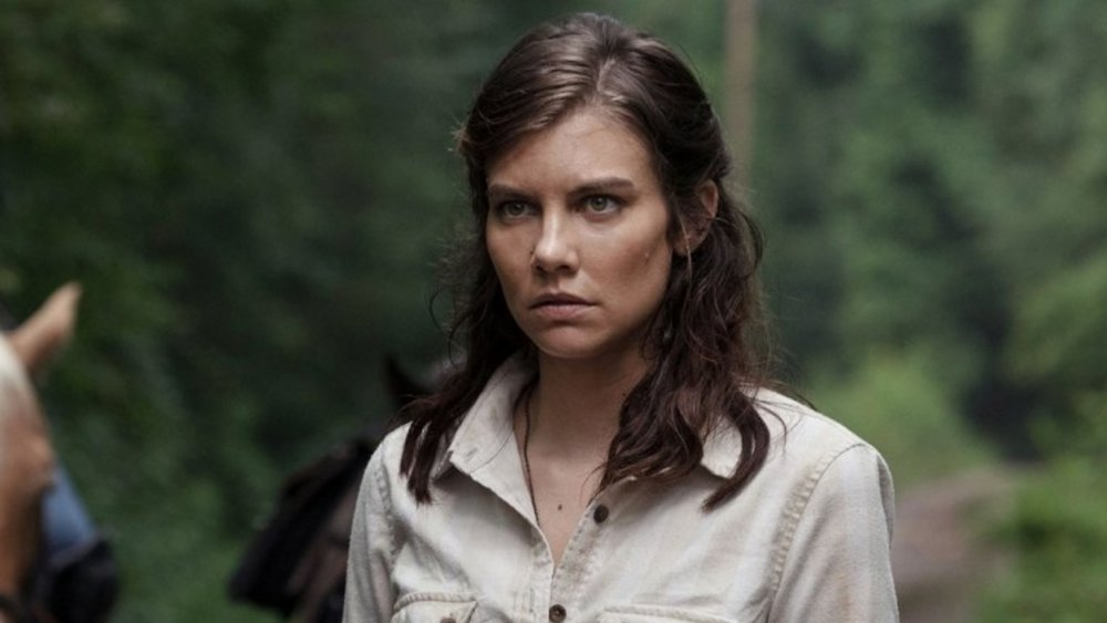 Lauren Cohan as Maggie Rhee on The Walking Dead