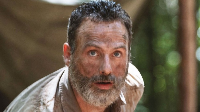 Rick with dirty face