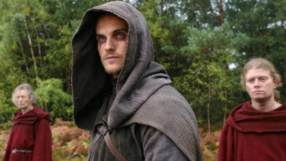 Danial Sharman as the Weeping Monk in Netflix's Cursed