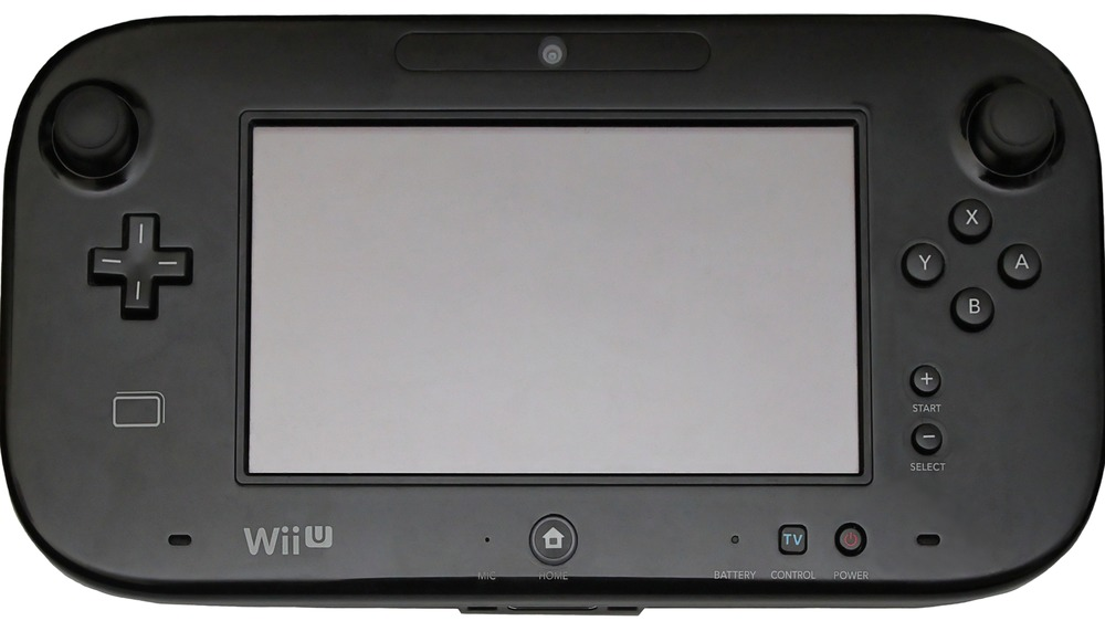 Black Wii U GamePad